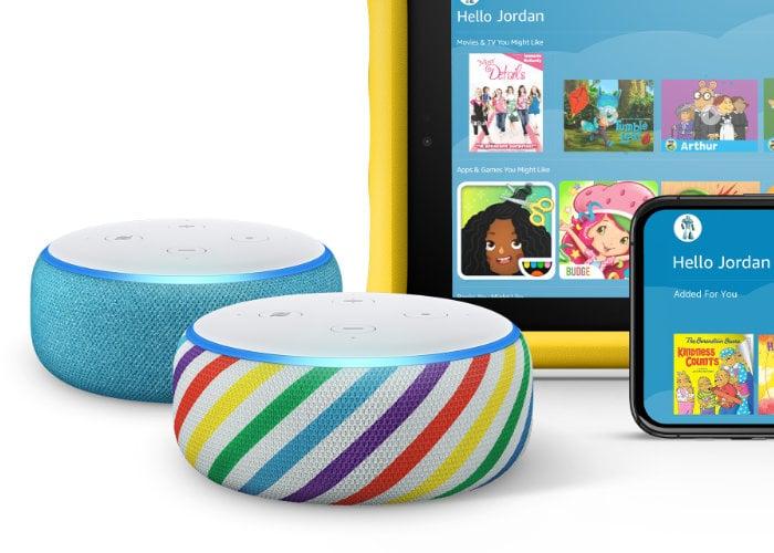 New Amazon Echo Dot for kids