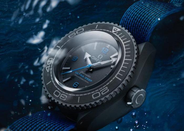 Omega Seamaster Planet Ocean Ultra Deep Professional wrist watch