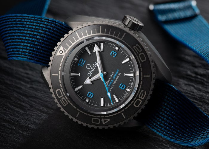 Omega sets new diving watch record