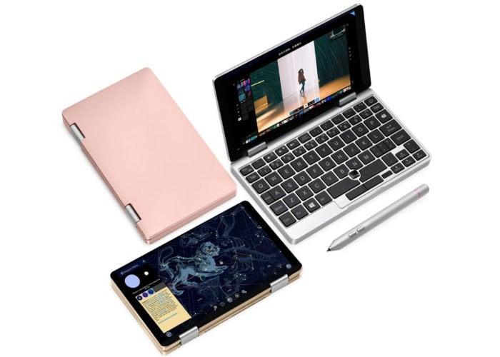 One Mix 1S Celeron 3965Y mini laptop
