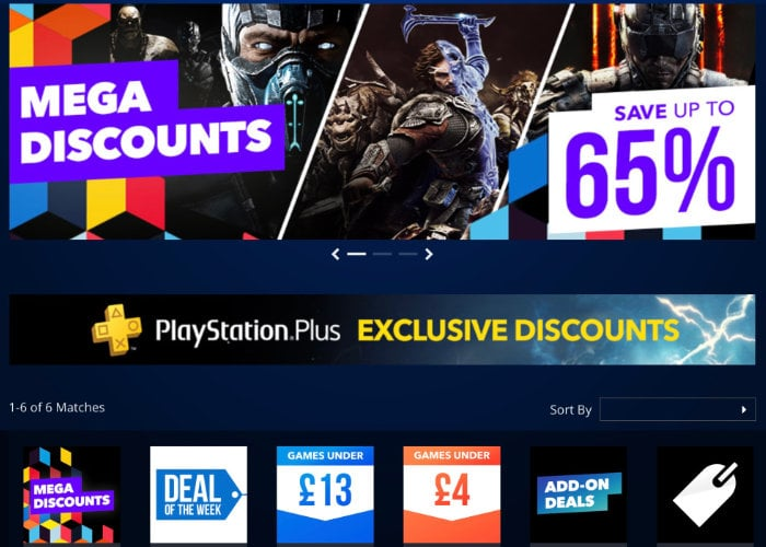 PlayStation Store Mega Discounts promotion starts today
