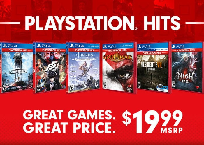 PlayStation Hits new Summer titles announced