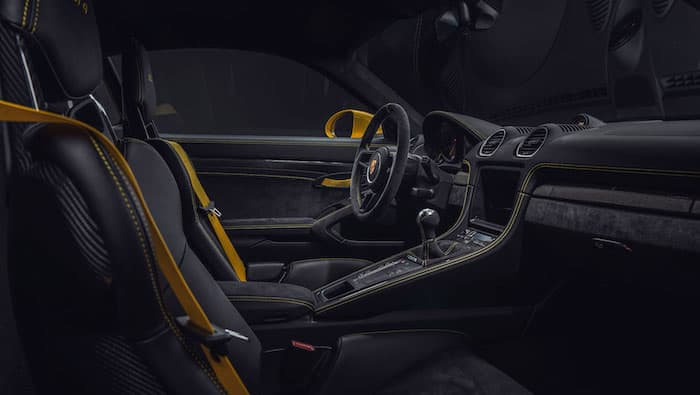 Porsche 718 Cayman GT4 and 718 Spyder