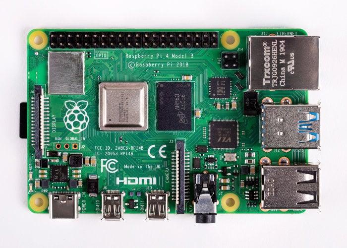 Raspberry Pi 4 enginneer interview
