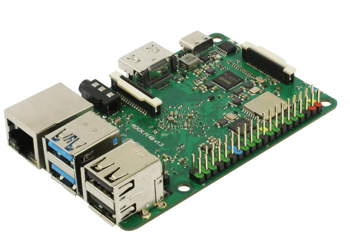 Rock Pi 4 v1.4 mini PC launches from $39