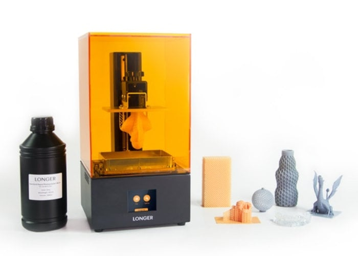 SLA 3D Printer Orange 30