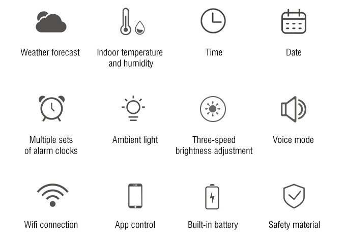 Smart clock features