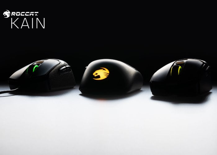 5044397e754 New Turtle Beach Roccat Kain gaming mouse introduced ahead of E3 ...