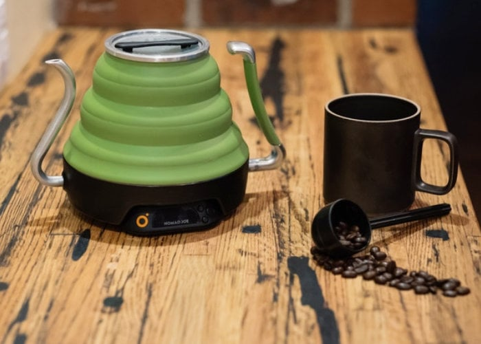 Voyager collapsible electric kettle