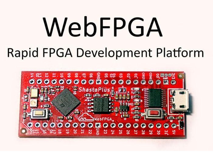 WebFPGA programmable FPGA