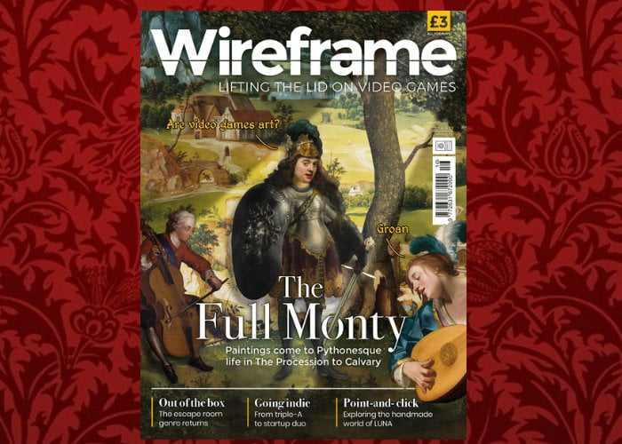 Wireframe gaming magazine