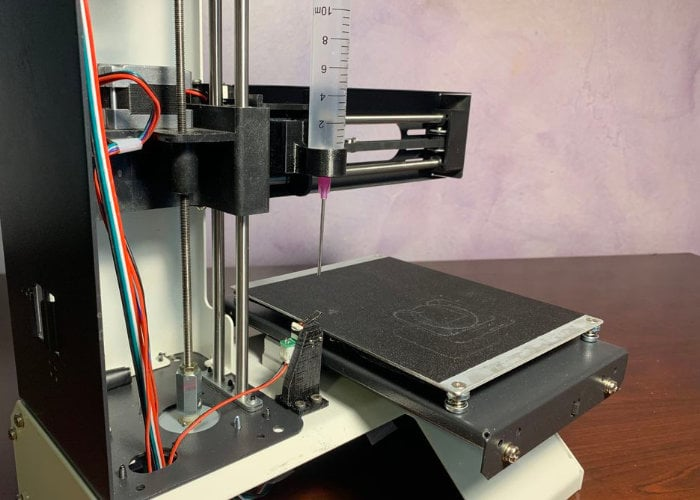 Affordable desktop bioprinting machine made from 3D printer