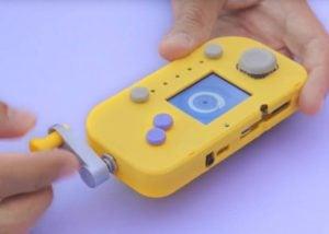 handheld crank gaming