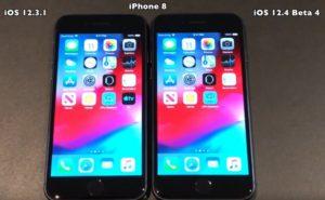 iOS 12.3.1 vs iOS 12.4 beta 4