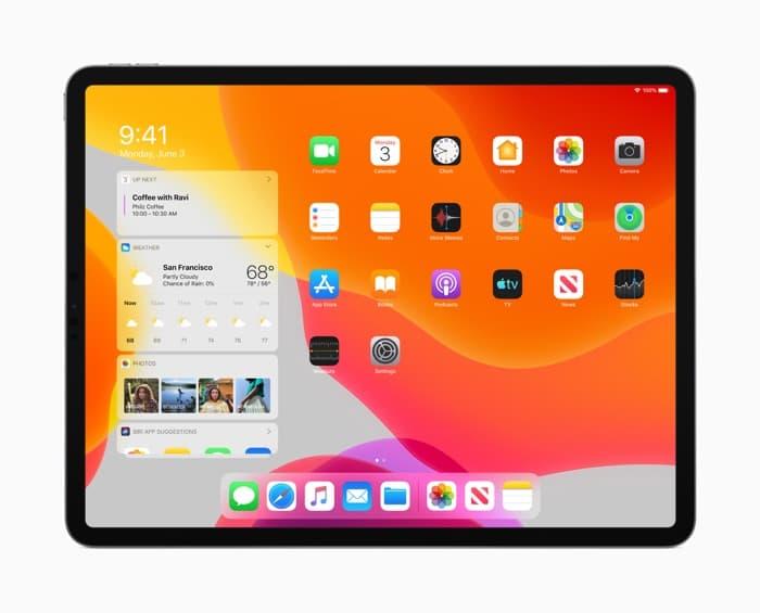 iPadOS beta 1