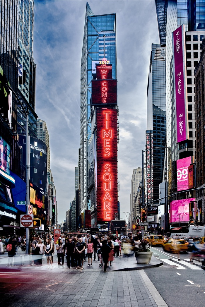 massive LED display