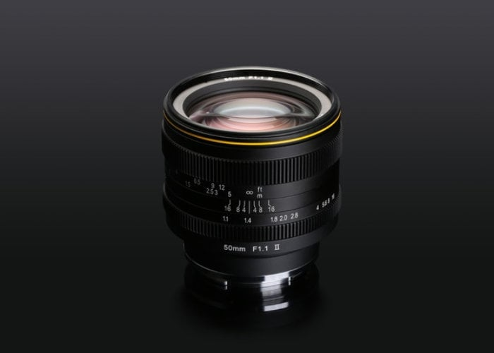 Kamlan 50mm F1.1 MK2 mirrorless camera prime lens