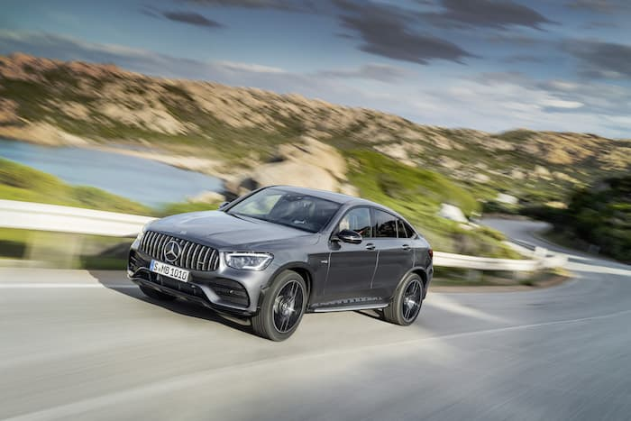 Mercedes AMG GLC 43 SUV and Coupe