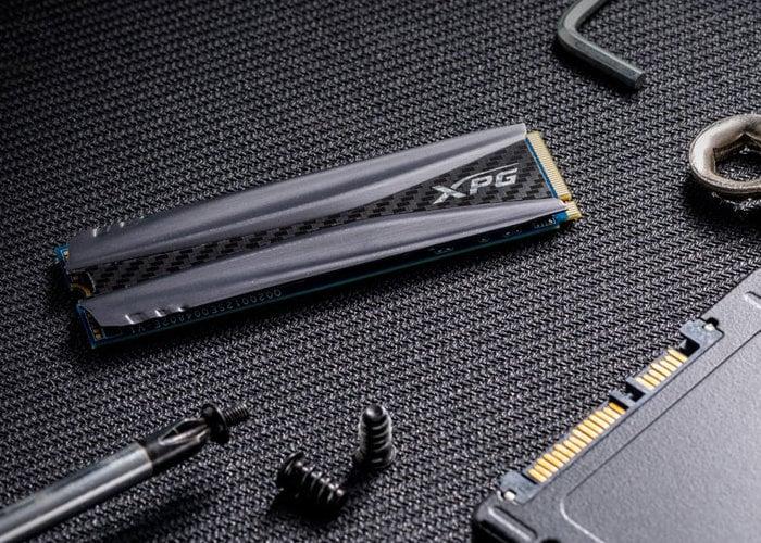 ADATA XPG GAMMIX S50 PCIe Gen4 SSD