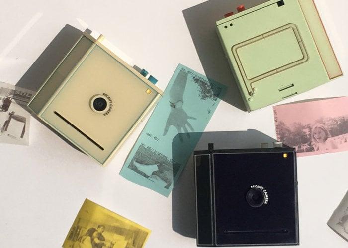 Alulu Camera receipt paper film camera hits Kickstarter