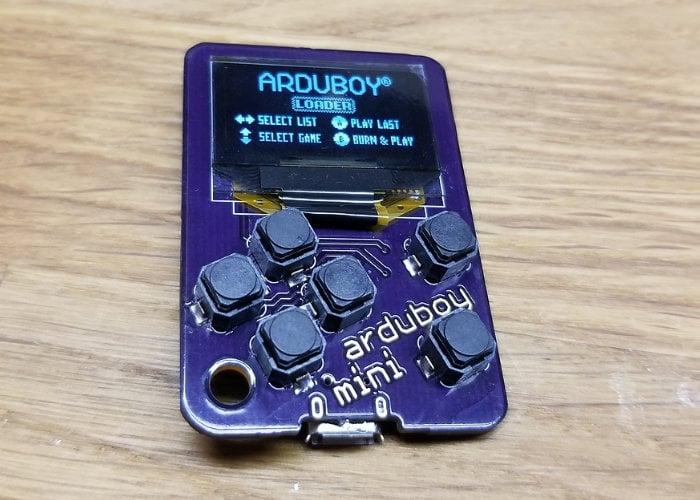 Arduboy Mini pocket games console