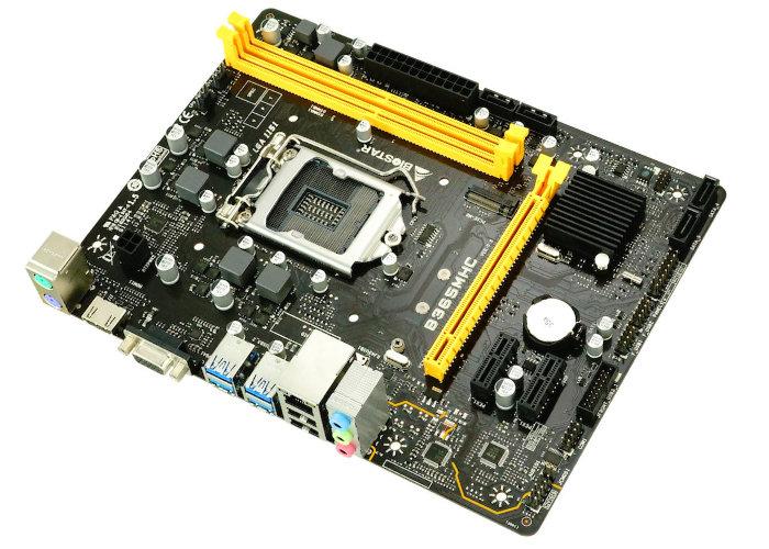 BIOSTAR B365MHC Micro ATX motherboard