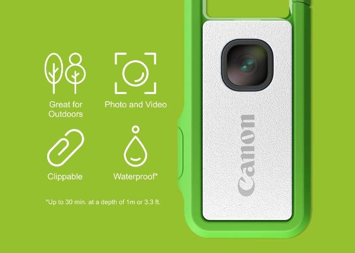 Canon IVY REC clippable camera