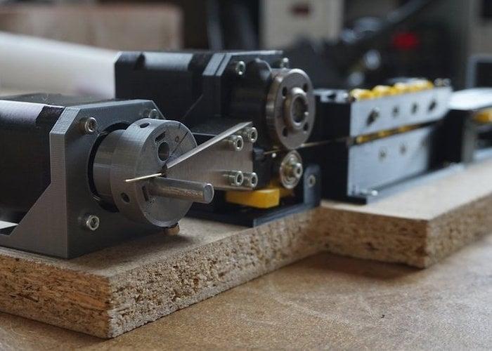 DIY Arduino wire bending machine