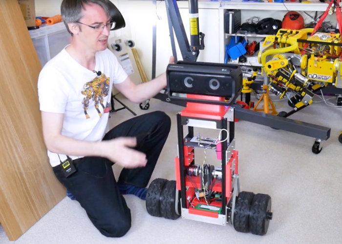 DIY two-wheel balancing robot project