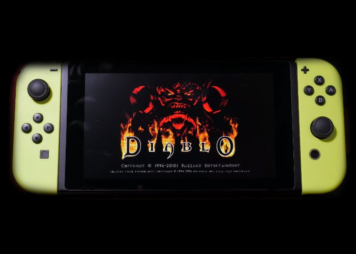 Diablo unofficial Nintendo Switch port