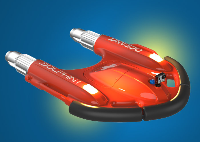 Dolphin 1 remote-controlled lifebuoy