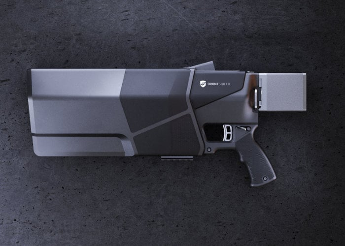 DroneShield takes down unwanted drone with ease