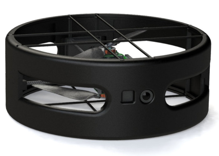 Dual propeller drone