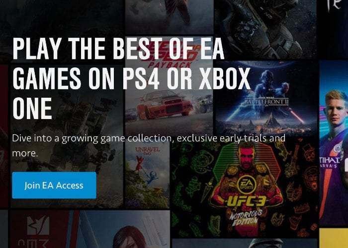 EA Access PlayStation