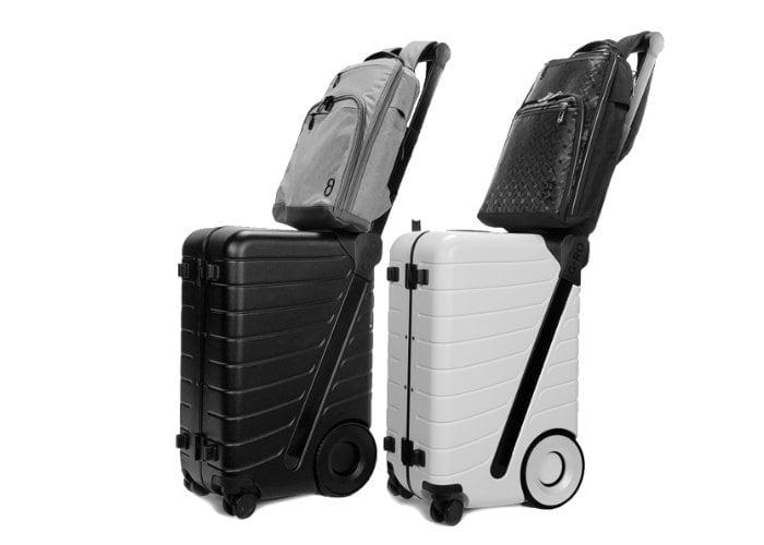 Ergonomic luggage