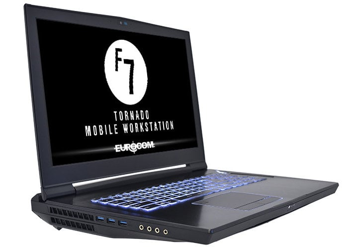 Eurocom Tornado F7 Mobile server laptop