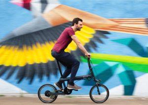 FLIT-16 folding electric bike