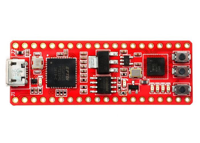 FireAnt breadboard friendly FPGA dev board