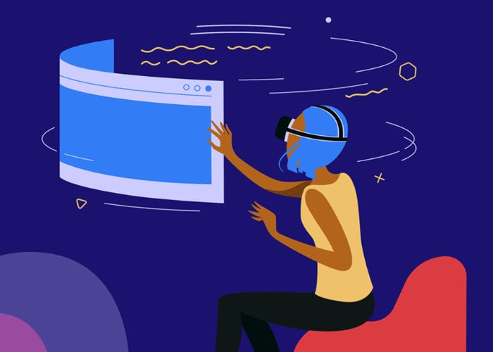 Firefox Reality VR web browser