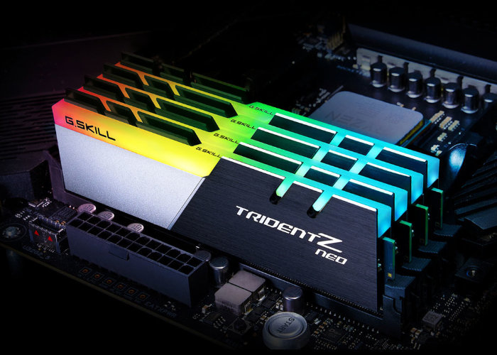 G.SKILL Trident Z Neo DDR4 memory unveiled