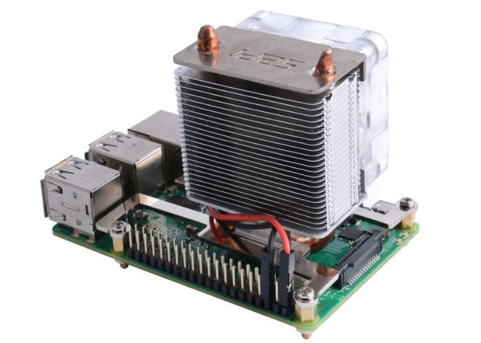 ICE Tower Raspberry Pi 4 cooling fan