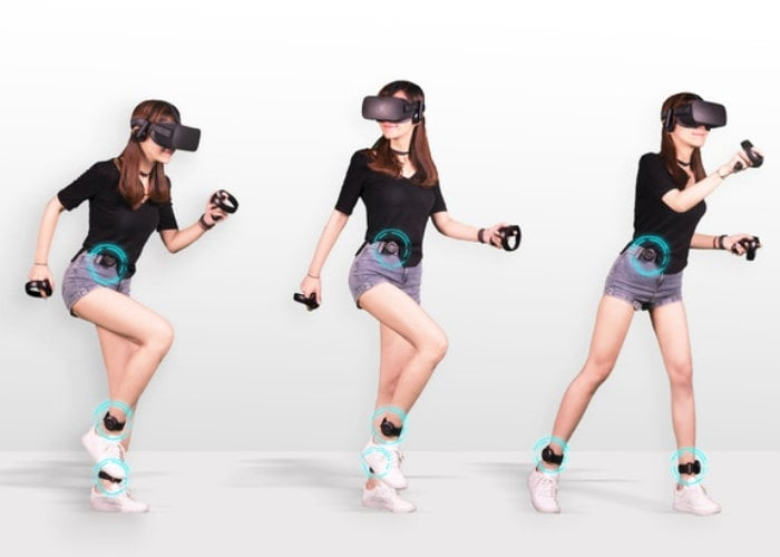 KAT loco wearable virtual reality locomotion system