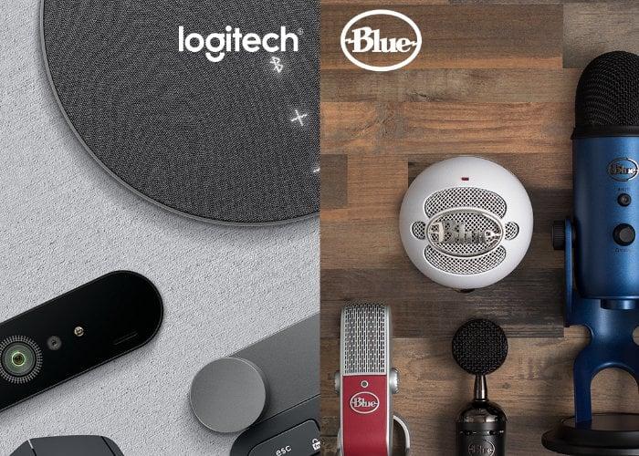 Logitech G Blue headphones