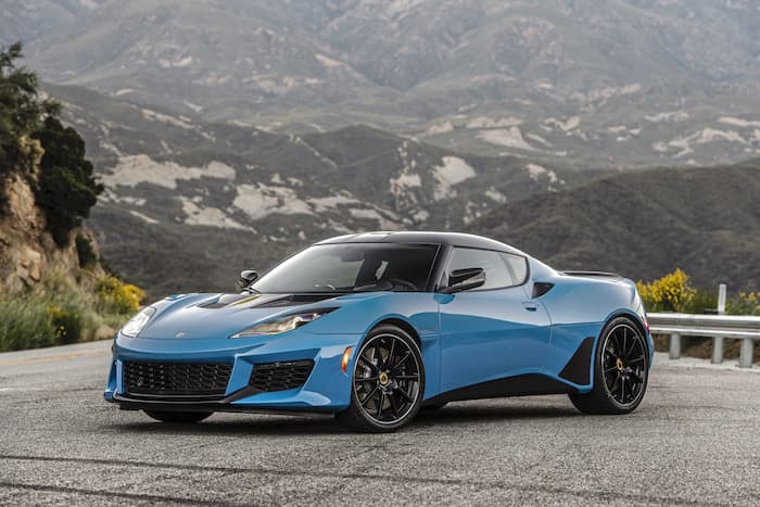New 2020 Lotus Evora GT announced for the US and Canada