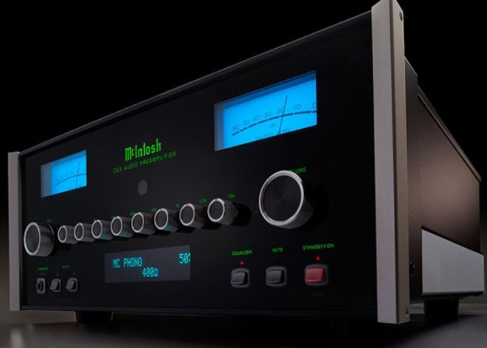 McIntosh C53 preamplifier launches for $8,000