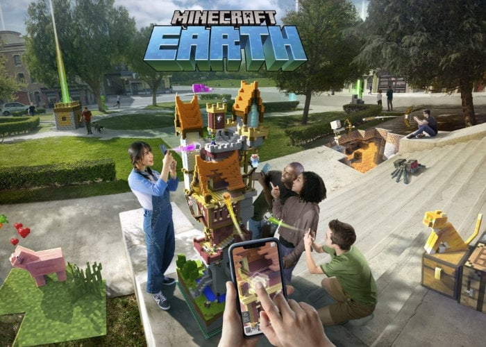 Minecraft Earth beta now underway