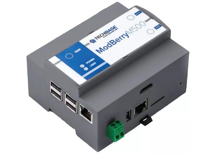 Raspberry Pi 4 ModBerry M500 industrial computer