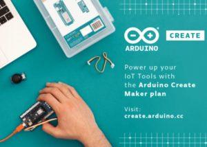 New Arduino Create Maker plan