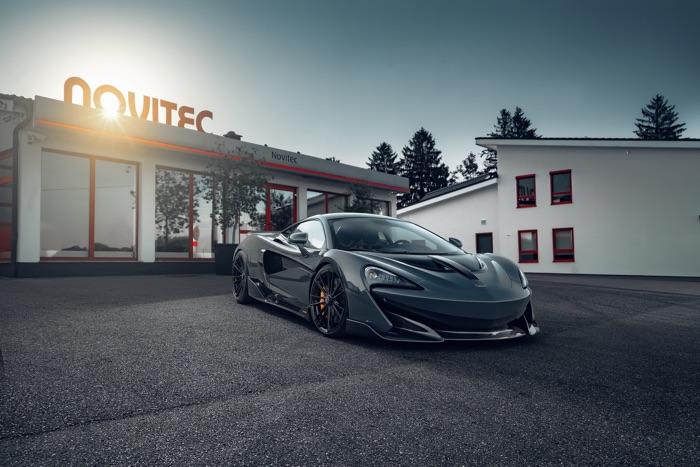 Novitec tuned McLaren 600LT