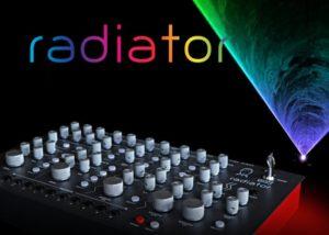 Radiator laser synthesizer